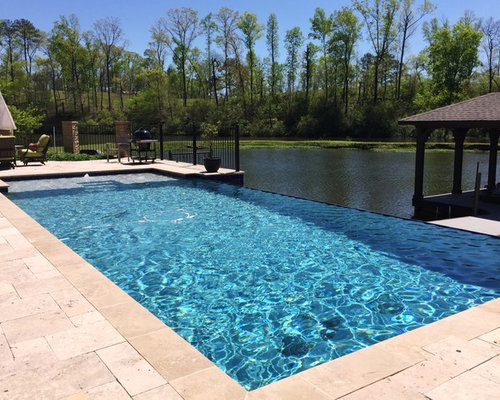 birmingham al infinity pool with tanning ledge outdoor fireplace. Black Bedroom Furniture Sets. Home Design Ideas