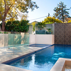 modern pool by Minke Pools