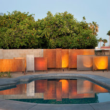 Southwestern Pool by Spry Architecture