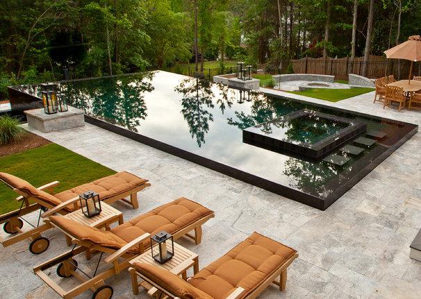 Contemporary Pool by Shane LeBlanc Designs