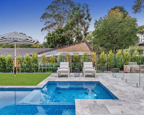 Hamptons style infinity pool for Pool design hamptons