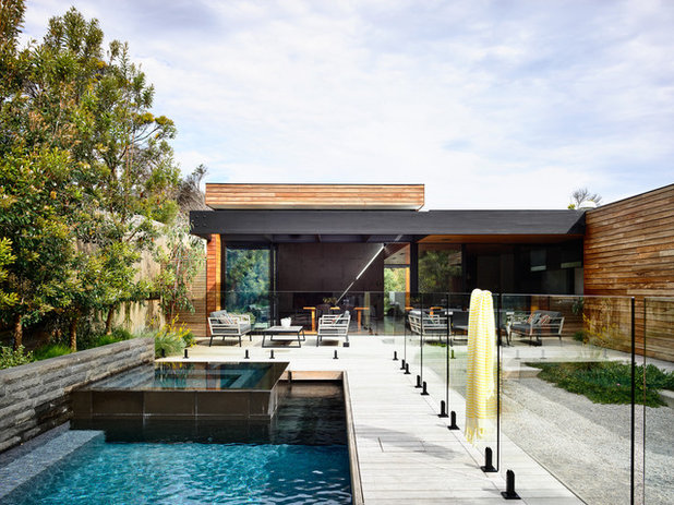 Contemporary Pool by Acre