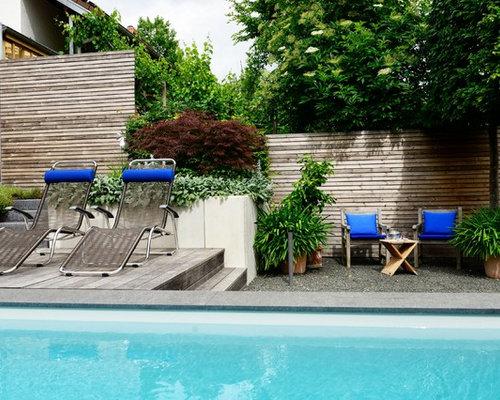 blau in gr n ein naturnahes schwimmbad in einer gr nen oase. Black Bedroom Furniture Sets. Home Design Ideas