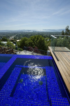Small 3 4 39 mosaic waterline tile mistake for Pool design mistakes