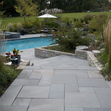 Traditional Pool by James Martin Associates
