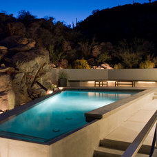 Modern Pool by Natural Pools & Gardens, Inc.