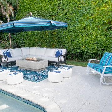 Boca Blue- Outdoor Sitting Area