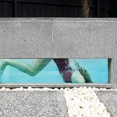 Modern Pool by Minke Pools