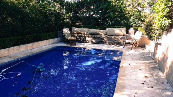 Traditional Pool by Monica Kovacic