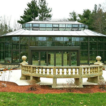Boston MA - All Glass Pool Enclosure