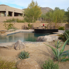 Southwestern Pool by Boxhill Design