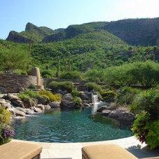 Mediterranean Pool by Boxhill Design