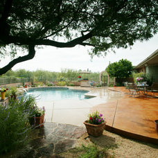 Traditional Pool by Boxhill Design