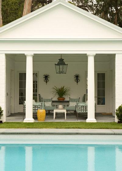 Traditional Pool by Elizabeth Dinkel
