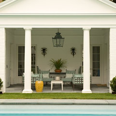 traditional patio by Elizabeth Dinkel