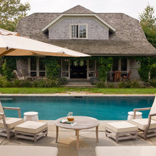 Traditional Pool by David Scott Interiors