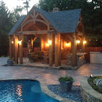 Backyard Living Traditional Pool Kansas City By