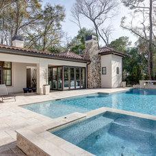 Mediterranean Pool by Frankel Building Group