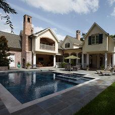 Traditional Pool by Thompson Custom Homes