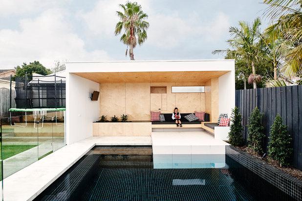 Contemporary Pools & Hot Tubs by Dan Gayfer Design