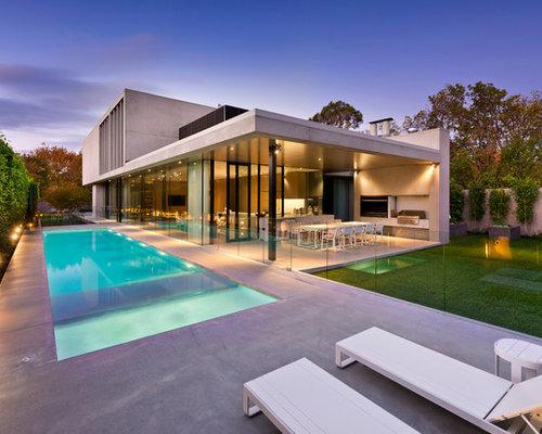 Fotos de piscinas | Diseños de piscinas modernas en patio ...