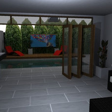 Modern Pool by external affairs
