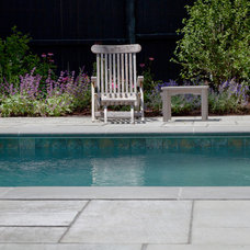 Traditional Pool by Matthew Cunningham Landscape Design LLC