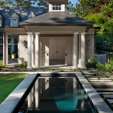 Traditional Pool by Howard Design Studio
