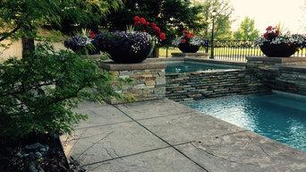 Brookside Garden and Pool
