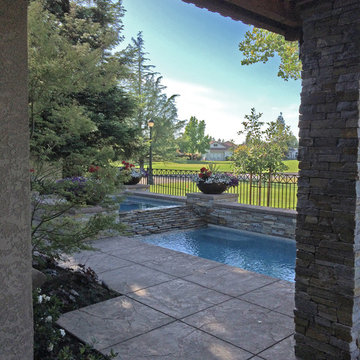 Brookside Garden and Pool