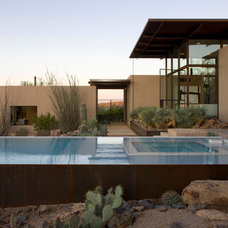 Contemporary Pool by Lake Flato Architects