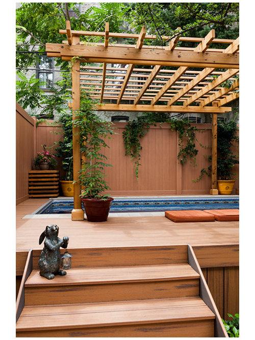 Fotos de piscinas dise os de piscinas elevadas rom nticas for Piscina elevada rectangular