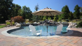 Budd's Pools Sunledge Project  ShotKrete