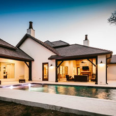 Traditional Pool by MSA ARCHITECTURE + INTERIORS