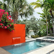 Contemporary Pool by BURLEYATESDESIGN