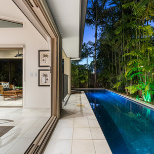 Tropical pool in Brisbane.