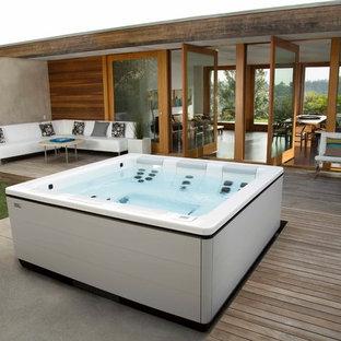 Idee per una piscina scandinava