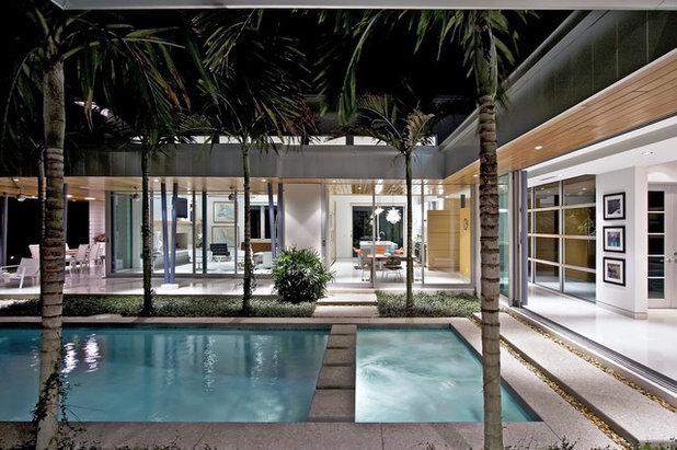 Moderne Piscine by Bultman Architecture