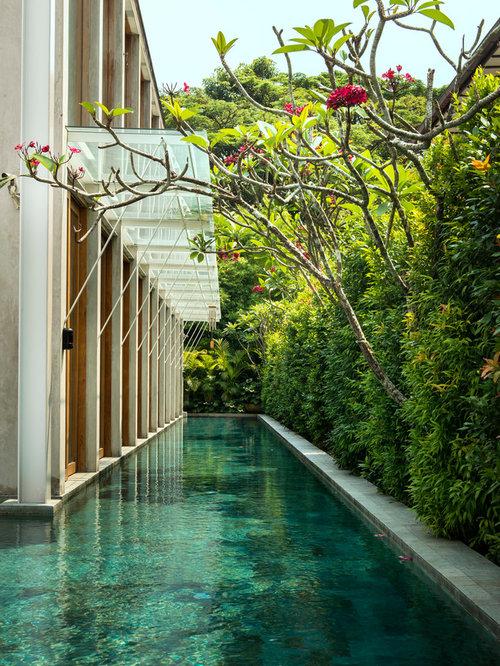 Fotos de piscinas dise os de piscinas ex ticas con losas - Losas para piscinas ...