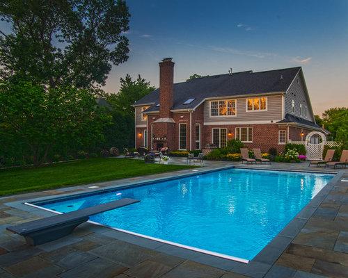 Fotos de piscinas dise os de piscinas alargadas cl sicas for Piscinas alargadas