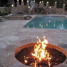 Contemporary Pool by All Seasons Pools & Spas, Inc.
