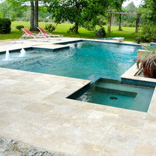 Traditional Pool by Crystal Pools and Spas