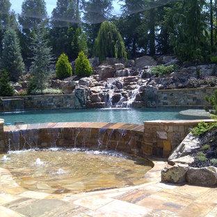 Pool - eclectic pool idea in Atlanta