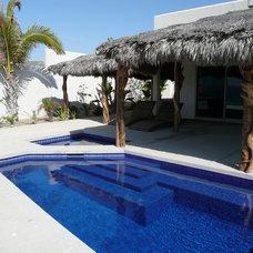 Tropical Pool by B.L. Burkhalter Architect