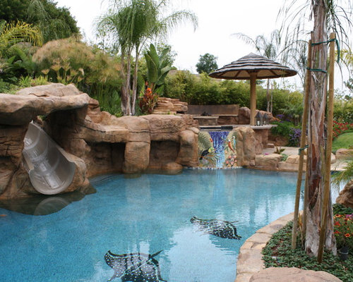Best Pool Boulder Landscaping Design Ideas Remodel