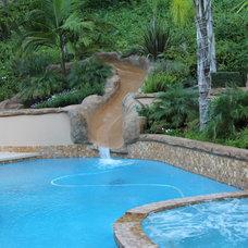 Pool by Pasadena Patio