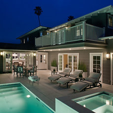 Beach Style Pool by Wardell Builders, Inc.