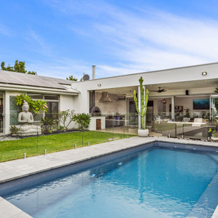 This is an example of a contemporary rectangular pool in Perth.