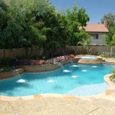 Mediterranean Pool by California Pools