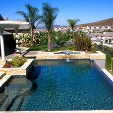 Tropical Pool by California Pools